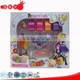 2016 Plastic DIY beauty beads educational girl play game party comestic kids dresses up make over cosmetics