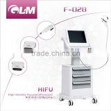 300W Long Life Span Shots Hifu Machine For Body Slimming And Face Lifting High Frequency Skin Care Machine