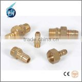 Alibaba china professional brass tube scrap nut machining parts manufacturer with high precision milling grinding turning