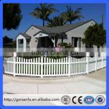 pvc portable fence panels/ pvc white picket fence/ cheap pvc fence for garden