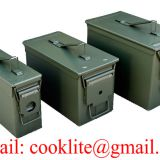 Metal Ammo Box Ammunition Can / Military Ammo Can Ammunition Box