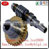 ISO/RoHS/SGS passed brass/bronze/stainless steel helical gear prices,elevator safety gear,stepper motor worm gear