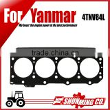 4TNV84L steel cylinder head gasket for yanmar diesel excavator used