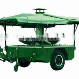 INquiry about fast food field military mobile kitchen trailer