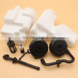 Gas Fuel Oil Tank & Filter Hose Line Filter Cap For Stihl MS170 MS180 017 018 Chainsaw Replace 1130 350 0500 / 11303500500