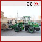 Telescopic Wheel Loader manufacturer mini micro telescopic boom wheel loader with EURO3 engine