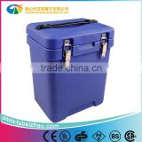 roto molded PE plastic commercial cooler box plastic rotomolded cooler boxes for fishing