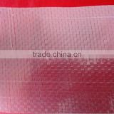 clear pe woven greenhouse sheet polyethylen woven fabric film 110-160gsm
