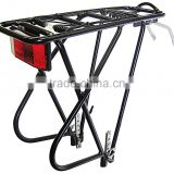 Aluminum 3 Leg Rear Bike Rack with spring