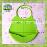 cute waterproof baby bib silicone