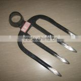 30020115 116 high quality forging hoe digging fork