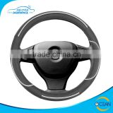 13 Inch Car Leather Steering Wheel Cover Sewing