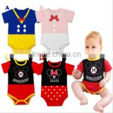 Baby Girls boys triangle climbing romper cotton baby jumpsuit new sleepwear cartoon wear