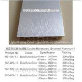 hot sale good quality 100mm brushed aluminum kitchen cabinet baseboard