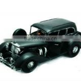 1930 Black Benz Vintage Metal Model Car Birthday Gift,Home Decoration Crafts for Collection and Souvenir,Anniversary Gifts