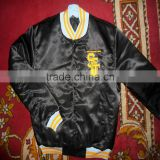 Custom Men baseball Satin Varsity Jackets
