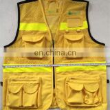 Wholesale Hi Vis Custom Polyester Fishing Jacket