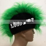 party mohawk wig with custom logo printing