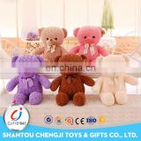 55cm Cute design made in China soft lovely bear plush with a bow tie