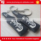 gift brand name pvc keychains for promotion