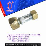 Hub bolt and nut for Isuzu NPR Front