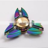 2017 target walmart amazon innovative Zinc metal alloy colorful fidget spinner toy for pressure relief adult toys