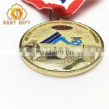 Custom High Quality Cheap Metal Gold Sliver Award Medal