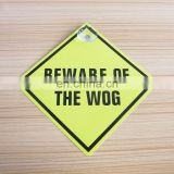 Cheap Gifts Beware Of plastic window car sign wholesale