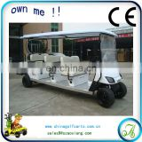 Restaurant hotel school park use 6 seater battery operated golf cart sightseeing bus