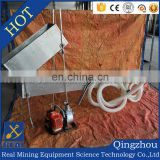 Portable highbanker gold recovery equipment gold sluice box