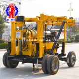 HuaxiaMaster supply hydraulic water well machine/XYX-3 wheeled well rig/600m water well drill equipment