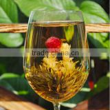 Chinese Organic Blooming Tea,Flower slimming Tea, slimming fit jasmine green tea best gift flower tea