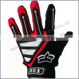good quality stretchable full finger bike gloves