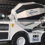 2m3 4cbm Self loading Mobile concrete mixer