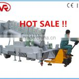 cheap 24m high rise hydraulic mobile tiltable telescopic cylinder aerial work platform