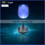 2015 new arrive RGBW wifi cup table bar light 2.4G RF remote control led cup light rechargeable color chnage led cup