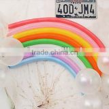 Rainbow Balloons 100% nature latex balloon round shape latex balloon every size available color                                                                         Quality Choice