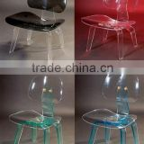 Colorful Transparent Cheap Acrylic Ghost Chair