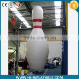2015 Hot sale Advertising inflatable bowling pin/gutterbll bottle,inflatable replicas model,inflatable model for advertising