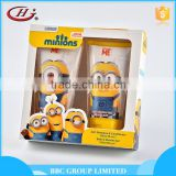 BBC Minons Gift Sets OEM 011 Moisturizing mild kids body care shampoo body wash and korea shampoo