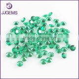 Factory machine cut 3.0mm emerald green spinel nano gems