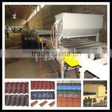 metal roof rollformer machine roof tile roll forming machine stone chip coated roof tile making machine
