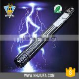 JF XP-E Long Zoomable LED Flashlight Torch Outdoor Self-defense Wolf Tooth Stick With key Chain /Police Equipment defend