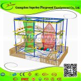 Commercial Playground Indoor Obstacle Course Manufacturer For Adults 157-4A