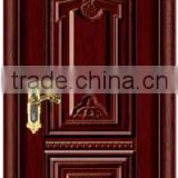carved surface design steel wooden interior cheap door                                                                         Quality Choice