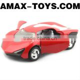 dc-0681134 mini motor model 1:32 lifelike pull back die cast mini car model with light and music (doors can be opened)
