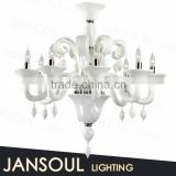 zhongshan lighting factory antique cheap white murano beveled glass pieces chandelier pendants