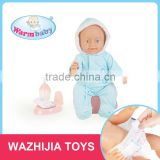 Fashionable latest crying newborn baby dolls function of drinking water