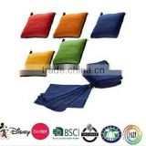 2 in 1 pillow blanket/Super warm 2 in 1 with zipper foldable pillow blanket                                                                         Quality Choice