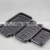 Customized Supemarket Display Fresh keeping Thermoformed PP Food Packaging Tray for Fresh Fruit and Vegetable